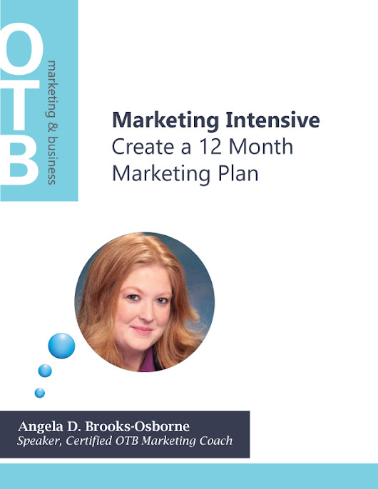 Marketing Intensive: 12 Month Marketing Plan | Marketing Coaching