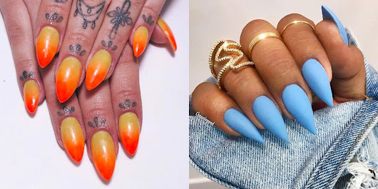 The Best Stiletto Nail Designs To Try for 2018
