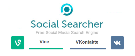 Social Searcher: 2 New Social Networks and Improved Analytics