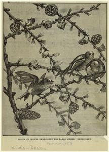 Design in crewel embroidery fo... Digital ID: 820474. New York Public Library