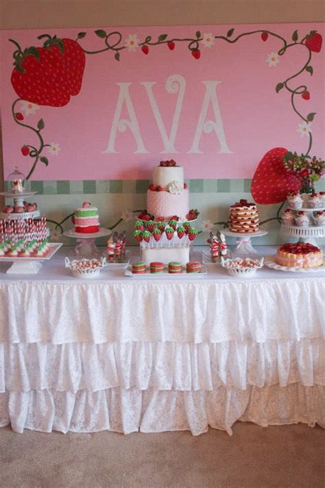 Kara's Party Ideas Strawberry Shortcake Girl 2nd Birthday