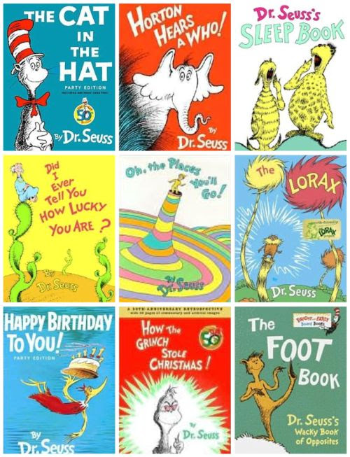 In case if you haven't seen the Seuss-theme logo on Google, Dr. Seuss was