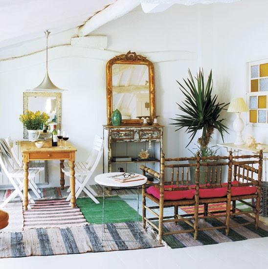 Ethnic living room   Spanish townhouse tour   PHOTO GALLERY   House Tour   Livingetc