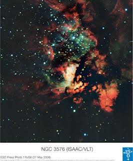 ESO PR Photo 17b/08 NGC 3576