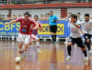 Joinville Atlântico Taça Brasil Futsal (Foto: Luciano Bergamaschi/CBFS)
