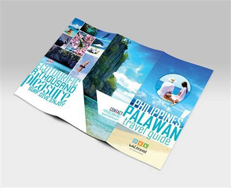 Travel Brochure Template   24  Free PSD, Vector EPS, PNG