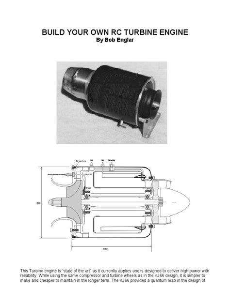 build your own turbine.pdf | Gas Turbine | Bearing