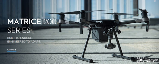 DJI announces the Matrice 200 commercial drone | Quadcopter Guide