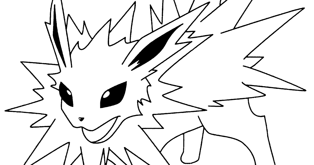 7 free coloring pages of eevee evolutions printable pdf