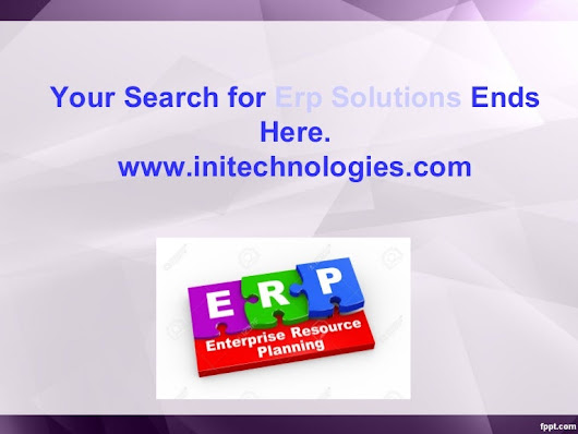 Erp solutions Provider in India.