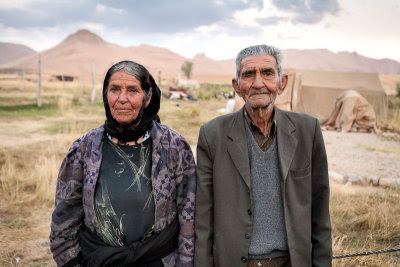 Bakhtiari Couple, Chaharmahal and Bakhtiari Province