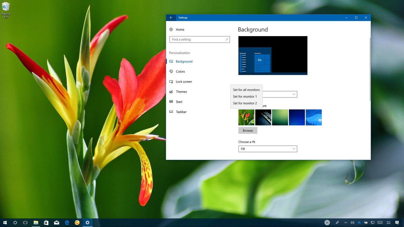 Ways To Set Different Wallpapers on Multiple Monitors in ...