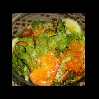 Not Mine -Persimmon Salad
