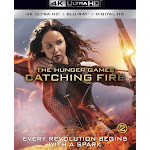 The Hunger Games: Catching Fire [4K Ultra HD Blu-ray]