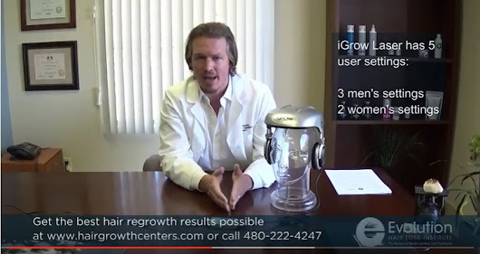 Does the iGrow Laser Work? Explained by Trichologist William Gaunitz