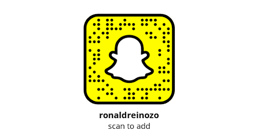 Add me on Snapchat! Username: ronaldreinozo