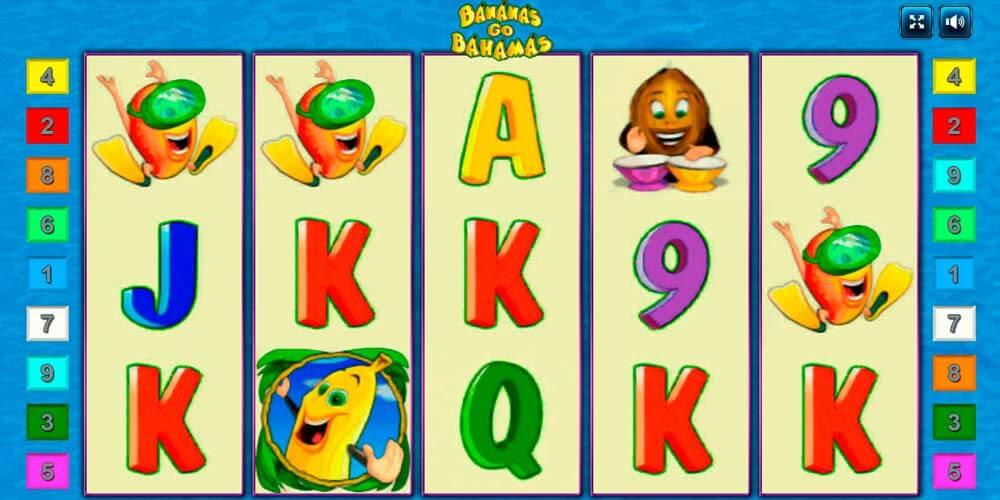 Игры игровой автомат bananas go bahamas обзор ставок зарегистрироваться онлайн