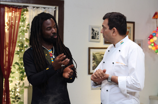 Image: Clean Cooking With Sanjeev Kapoor and Rocky Dawuni | India