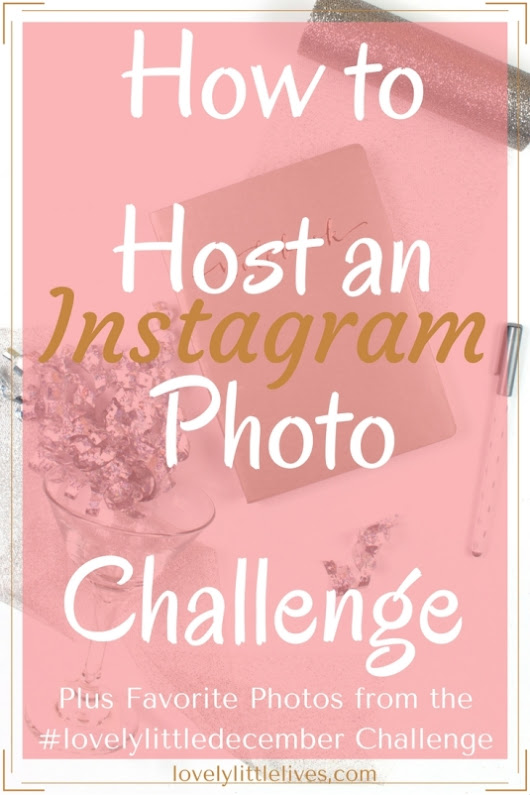 How to Host an Instagram Photo Challenge + Favorite Photos from the #lovelylittledecember Challenge