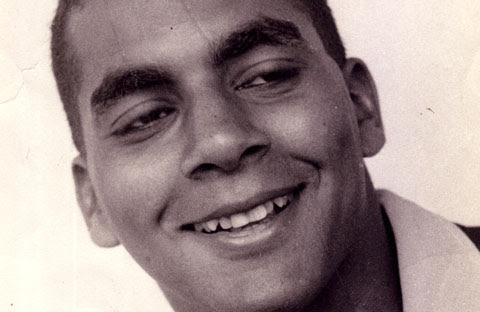 Wayne Brown in his early twenties