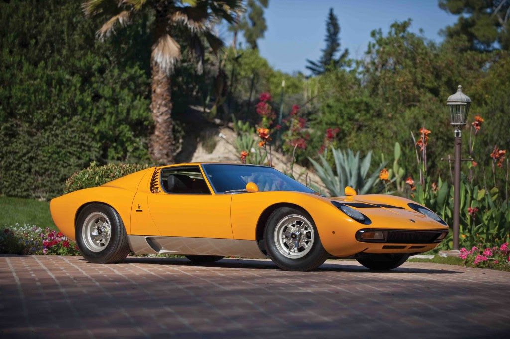 Lamborghini Miura S to Star at Gooding Auction in Pebble