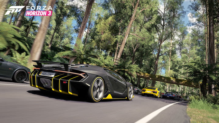 windows  creators gaming forza horizon in game screenshot