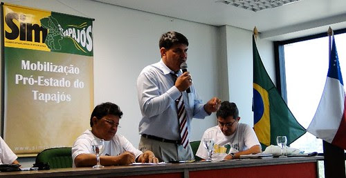 Comitê Pró-Tapajós em Manaus