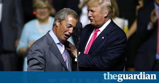 Nigel Farage is 'person of interest' in FBI investigation into Trump and Russia | Politics | The Guardian