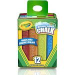 Crayola Washable Sidewalk Chalk 12 Ct - Crayola