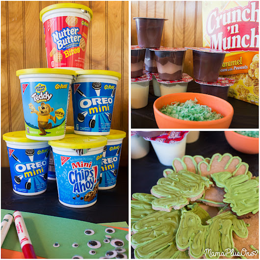 Spooky Halloween Pudding Snacks and Classroom Party Craft and Treat! - Mama Plus One