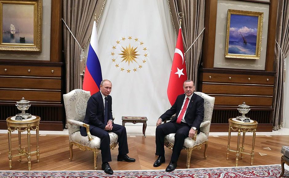 Con il Presidente della Turchia Recep Tayyip Erdogan.