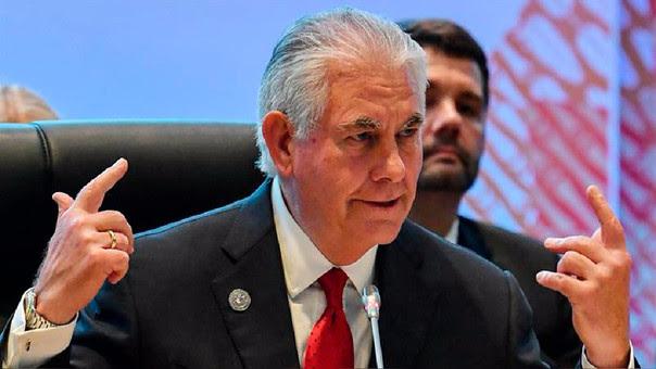 Rex Tillerson dijo que la adopción en la ONU de sanciones contra Corea del Norte demostró que existe unidad de las potencias mundiales a la hora de exigir una península coreana desnuclearizada.