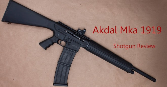 Akdal Mka 1919 Shotgun Review