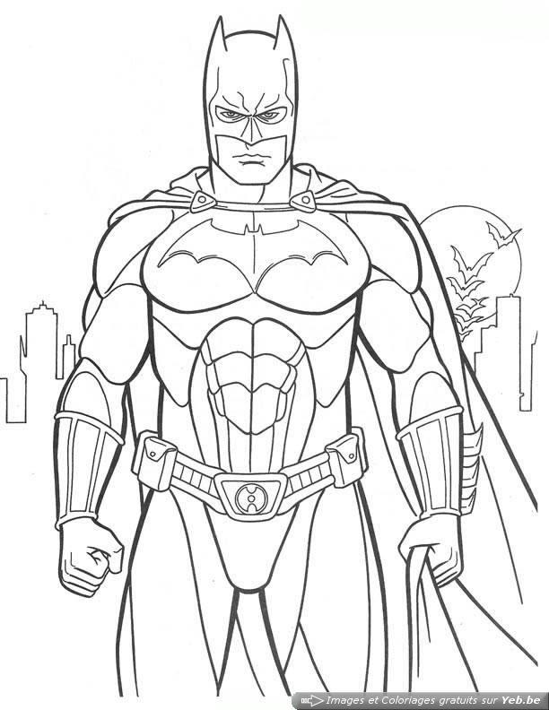 171 Dibujos De Superhéroes Para Colorear Oh Kids Page 1