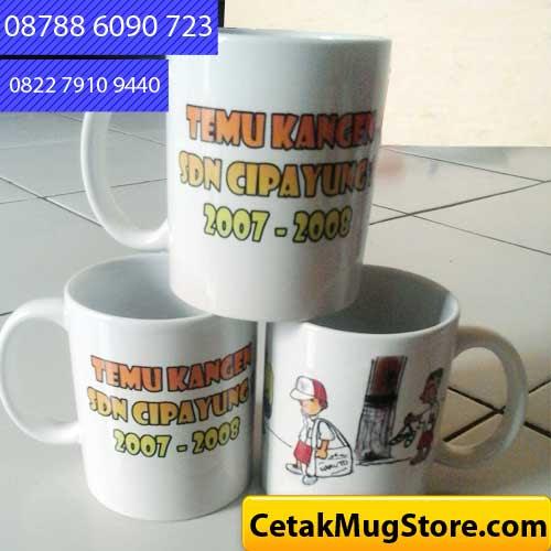 Buat mug Souvenir Reuni SDN Cipayung Depok CetakMugStore com