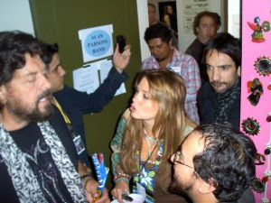 Alan Parsons, Lisa Parsons y Sergio Lugo. Auditorio Nacional, México 28/03/2011.