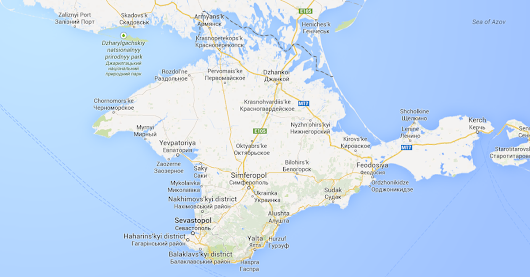 For Crimea, Google Shows Different Borders Based on Your Location