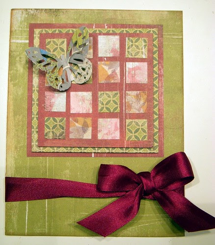 Quilt Inspired Card
