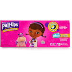 Huggies Girls' Pull-Ups Learning Designs Training Pants, Size 2T-3T - 124 count