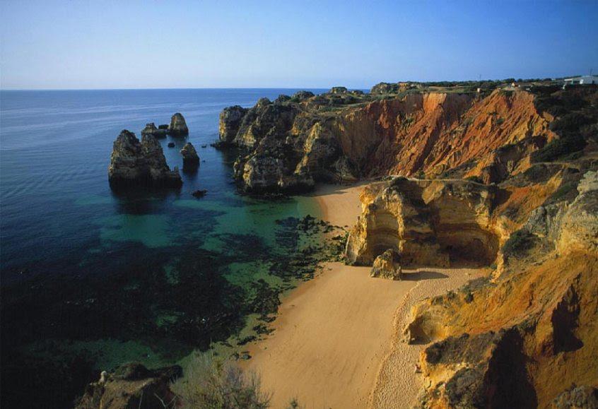 Praia Dona Ana - Lagos, Portugal