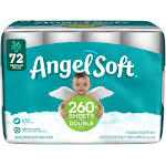 Angel Soft Bathroom Tissue, 2-Ply, Double Rolls - 36 pack