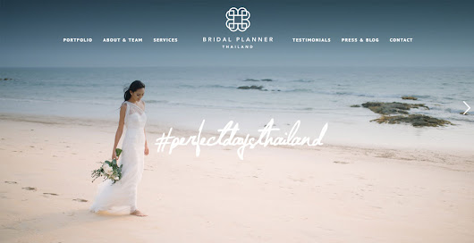 The Bridal Planner - CSS Nectar CSS Gallery