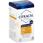 Citracal +D3 Slo-Cal Technology Calcium Supplement Coated Caplets 80 ct Box