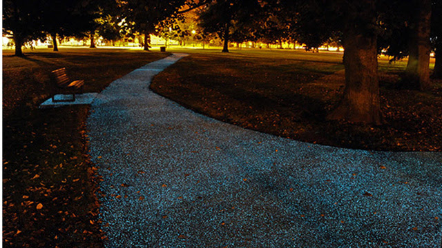 Step Aside, Street Lamps: These Ordinary Paths Glow On Their Own