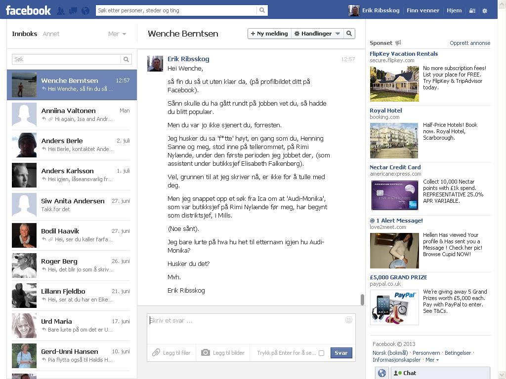 wenche berntsen facebook
