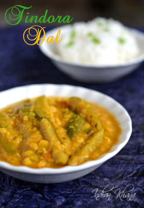 Tindora-IvyGourd-Chana-Dal-recipe