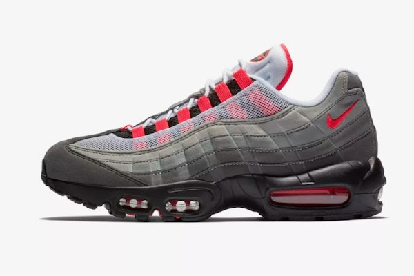 """f0a7e36c5a Here's How to Cop Nike's Air Max 95 OG """"Solar Red"""""""