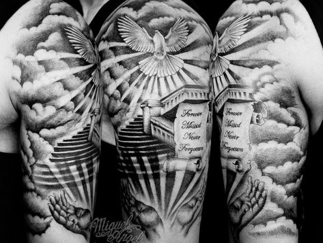 75 Dove Tattoo Designs And Symbolic Meaning Peaceharmony 2018