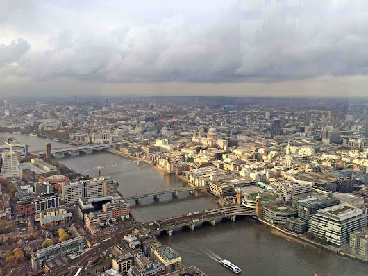 Exploring London: Borough Market & View From The Shard - Stop Having a Boring Life