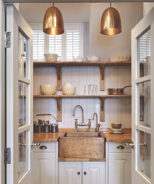 Copper Kitchen Lighting: Decordemon: COPPER PENDANT LIGHTS IN THE KITCHEN